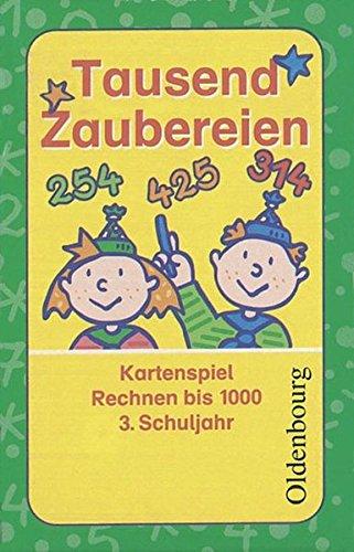 Zahlenzauber - Materialien zu Allen Ausgaben / 3. Schuljahr - Tausend Zaubereien: Rechnen bis 1000. 55 Spielkarten