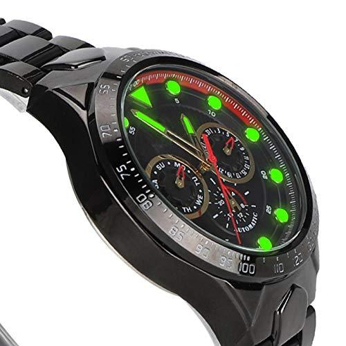 Ancho de la correa 22 mm Reloj Reloj de pulsera para hombre Adecuado para ocasiones de negocios