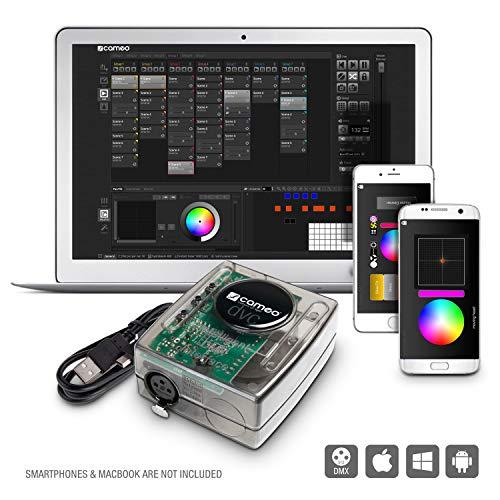 Cameo CLDVC 512-Kanal USB zu DMX-Interface und Steuersoftware
