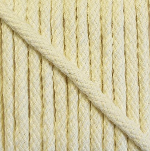 5 m Baumwollkordel 6 mm rohweiß 1,40€/m