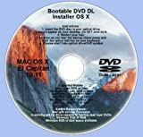 DVD DL, Mac OS X 10.11 El Capitan Full OS Install Reinstall Recovery Upgrade