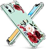 RicHyun iPhone 11 Case,Floral iPhone 11 Case, Peony Flowers Pattern Soft Lightweight Flexible TPU Protective Bumper Case for iPhone 11 6.1 inch 2019