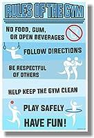 ジムのルール–新しい教室Motivational Poster