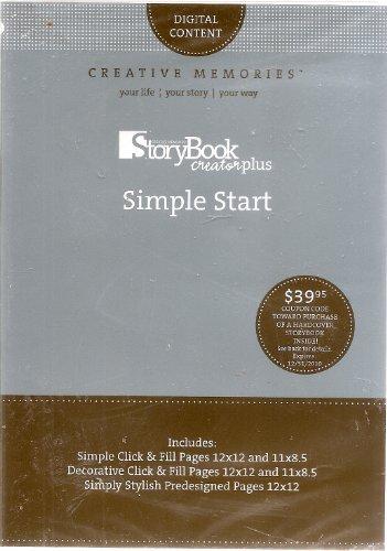 Creative Memories Storybook CreatorPlus Simple Start by Creative Memories