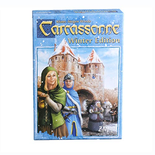 DEF Juego de Mesa Carcassonne, Juego de Estrategia clásico, Juego de Habilidad...