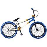 Mafiabikes Bicicleta BMX Madmain de 20 pulgadas, varios colores, Harry Main (Blue Tán)
