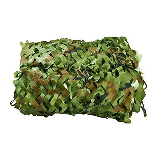ZHJBD Camouflage, camouflage, Oxford-weefsel voor auto, leger, tent, jacht, rolluik, net groen, camouflagenet 19.6x32.8 ft 6x10m