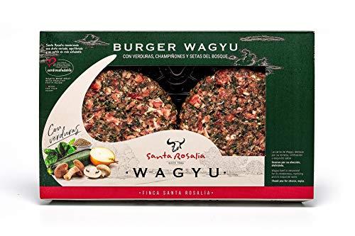 Burger de Wagyu con pollo campero y verduras 2 x 150gr