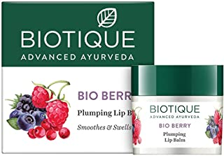 Biotique Bio Berry Plumping Lip Balm Smoothes & Swells Lips, 12G