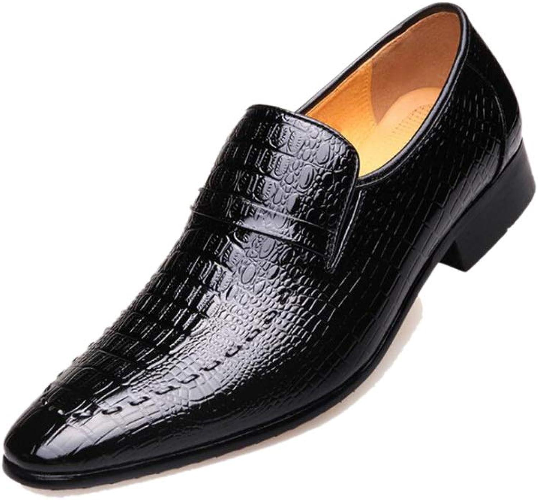a81713a1fd7fcf Zmlsc Spitzen Herren Business Schuhe Gentleman England England England Braun  Schwarz Gesetzt Hochzeitsschuhe T auml glich Weiches Leder 59b500