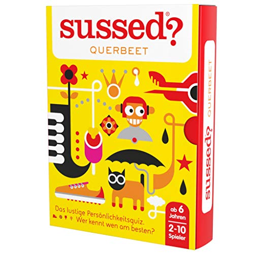 SUSSED QUERBEET (Das lustige Persönlichkeitsquiz für die ganze Familie) (Wer kennt wen am besten?)