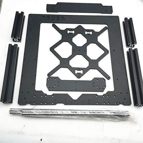 LITAO-XIE, LT-3d, Mit Profil 1pc Aluminiumlegierung Metallrahmen und glatt Rods Kit 6mm Dicke for Prusa I3 MK3 Rahmen