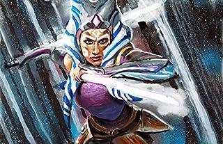 Change 4 Love Original Ahsoka Tano Star Wars Jedi Knight - Clone Wars - Amazing Superhero Wall Pop Art Size 11x17 - Detailed Print Painting Poster