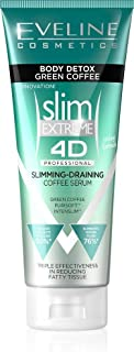 Eveline Slim Extreme 4D Body Detox Green Coffee Body Serum Slimming and Drainage 250 ml