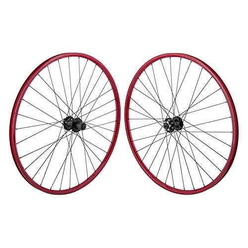 WTB Speed 6B Disc RED 29er Mountain Bike Commuter CX Gravel Wheelset 32h QR