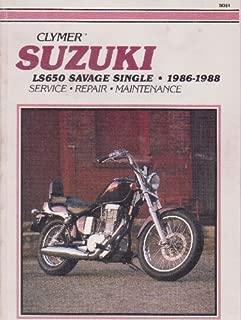 Suzuki Ls650 Savage Single, 1986-1988 (Clymer Motorcycle Repair Series)