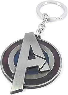 Tugend-Ära Latest Collecton Marvel Avengers Logo Superhero Collectible Metal Keychain for Car Bike Men Women Keyring