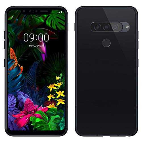 TBOC Funda de Gel TPU Negra para LG G8s ThinQ (G810EAW) [6.21 Pulgadas] Carcasa de Silicona Ultrafina y Flexible para Teléfono Móvil