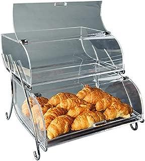 Rosseto BAK2937 2-Shelf Bakery Display Case, Clear