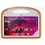 atFolix Glasfolie kompatibel mit Archos 101 ChildPad Panzerfolie, 9H Hybrid-Glass FX Schutzpanzer Folie