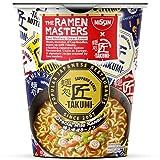 NISSIN Foods The Ramen Masters - Takumi Special Miso Ramen Original japanisches Miso Ramen Rezept als Instant-Nudelsuppe (1 x 74g). Restaurantgeschmack im Becher, 1 Stück 1340 (Lebensmittel & Getränke)