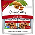 8-Pack Orchard Valley Harvest Whole Natural Almonds, 1 Oz