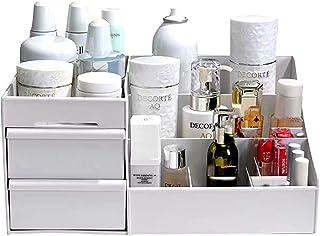 Bandejas para Cosméticos,Organizador de Maquillaje,Caja de almacenamiento de maquillaje,Caja de plástico cosmética,Caja co...