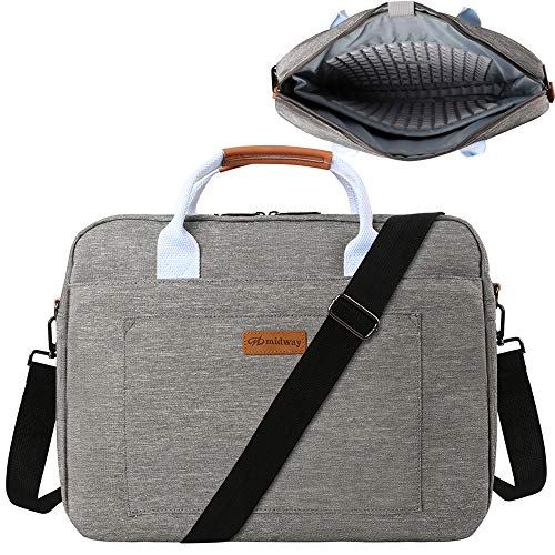 15.6 in Laptop Shoulder Bag for Lenovo Yoga 7i 9i, ThinkPad E15 L15 P15 P15v P15s T15 T15g T15p