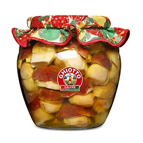 Galfrè Antipasti d'Italia - Funghi Porcini interi sottolio d'oliva - Vaso orcio Kg. 1,6