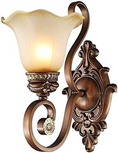 Max 59% OFF Liunce European New Free Shipping Bedroom Wall Lamp Antique Corridor Glas American