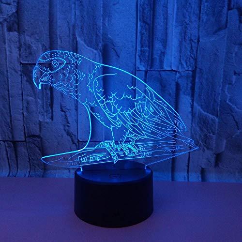 Altavoz Bluetooth Lámpara Nocturna 3D Creativo Led Usb 5 Cambio de Color...