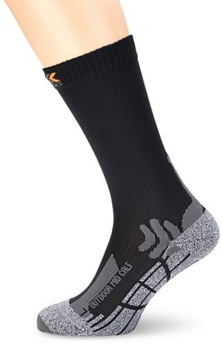X-SOCKS Outdoor Mid Calf Chaussettes de randonnée Gris Anthrazit 1