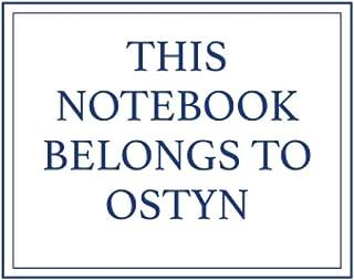 This Notebook Belongs to Ostyn