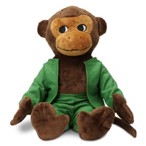 Micki & Friends 44371700 - Herr Nilsson Puppe 23 cm - Pippi Langstrumpfs AFFE als Stoffpuppe - Teddy - Plüschpuppe Kuscheltier - abnehmbare Kleidung - ab 0+ Monate