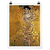 Bilderwelten Poster - Gustav Klimt - Adele Bloch-Bauer I