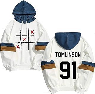 Louis Tomlinson One Direction Hoodies Unisex Streetwear Moda Hip hop Felpa con cappuccio