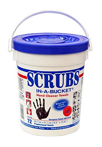 Preisvergleich Produktbild Aparoli DY42272 Original Scrubs In-a-Bucket,  72 getränkte Handreinigungstücher