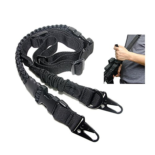 Tactical Element Eslinga de 2 a 1 Puntos Cabestrillo Paracord Convertible Ajuste...