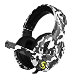 Docooler T-173 Wired Gaming Headset Over-Ear 3.5 mm Music Headphones Noise Cancelling Headphones