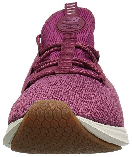 New Balance Zapatilla deportiva Fresh Foam Lazr Sport V1 para mujer, morado (Fruta del Dragón/sal marina), 38 EU