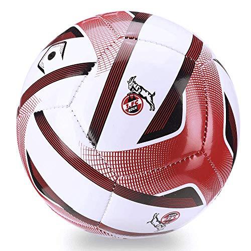 uhlsport Unisex– Erwachsene Fc Köln #08 Fussball, weiß/rot, NOSIZE