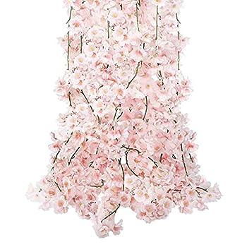 fake cherry blossom flowers