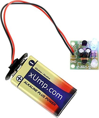 xUmp.com DIY Flashing LED Circuit Kit