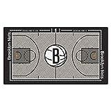 FanMATS NBA Brooklyn Nets - Corredor de la NBA (Nailon, Talla pequeña)