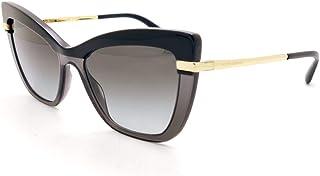 Dolce & Gabbana Occhiali da sole DG4374 32468G TOP BLACK ON TRANSP BLACK occhiali Donna colore Nero lente grigio taglia 54 mm