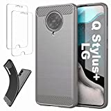 Ttianfa Case Cover for LG Q Stylus+ case【2x】Tempered