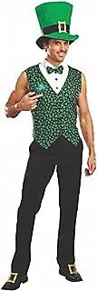 Disfraz IRE Tallas M – XXL Trébol Muñeco Barry Chaleco con Sombrero St Patricks Day