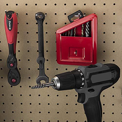 NEIKO 01925A Screw Extractor and Left Hand Drill Bit Set, 10 Piece, Cobalt HSS Drill Bits, Alloy Extractors