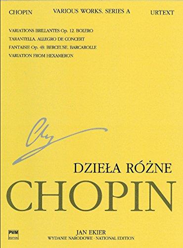 Various Works / Dziela Rozne