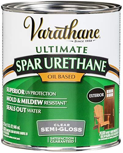 Rust-Oleum 9441 Ultimate Spar Urethane Oil Based, Quart, Semi-Gloss